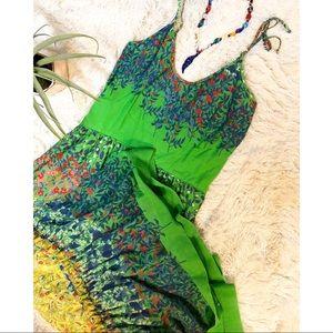 Vintage Leslie Fay floral dress